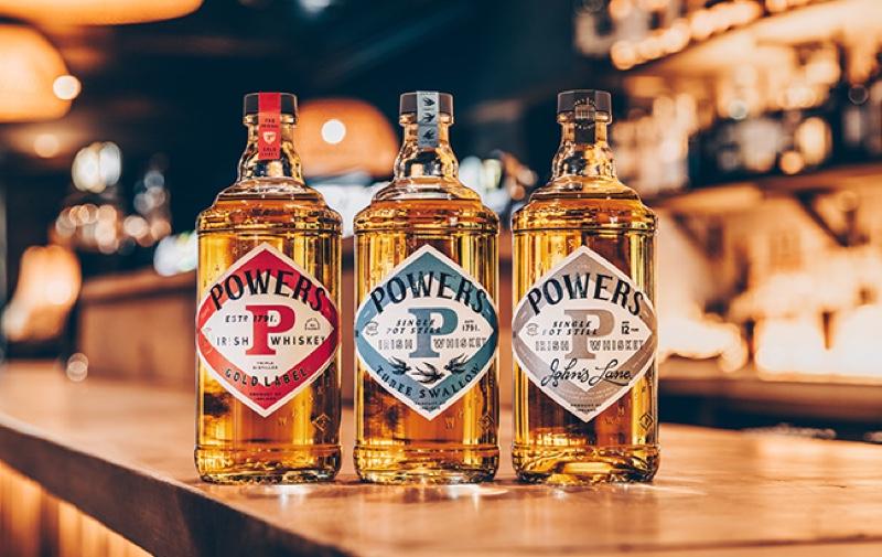 Powers Irish whiskey presenta un nuevo diseño de botella