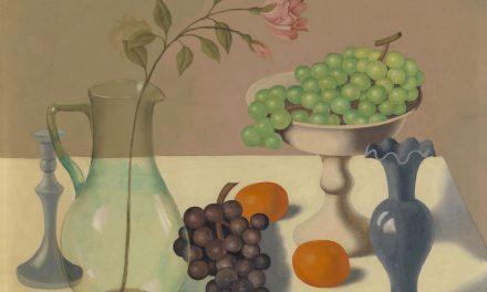"""""""Bodegón con uvas"""" (1937), de Gustave Van de Woestyne"""