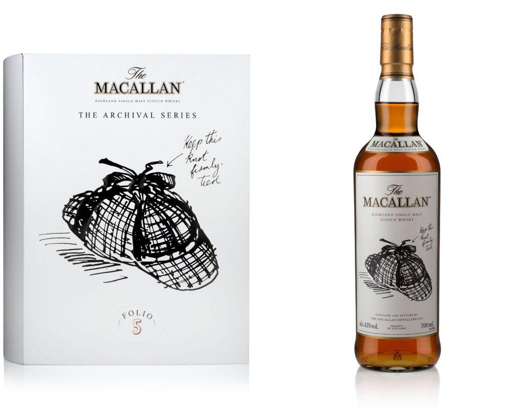 The Macallan Archival Series Folio 5 amplía la disponibilidad de las tiendas de viajes