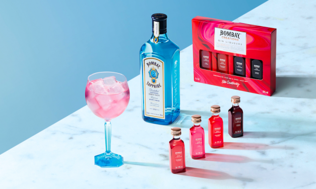 Bombay Sapphire lanza licores de ginebra con The Bombay Creations Gin Liqueurs pack