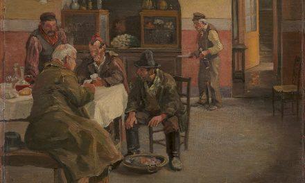 """""""La posada en Sora"""" (1883), de Theodor Philipsen"""