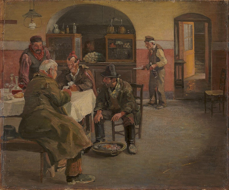 Theodor_Philipsen_-_Gæstgiveriet_i_Sora_-_KMS3331_-_Statens_Museum_for_Kunst