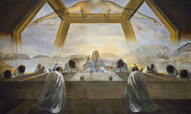 """El sacramento de la última cena"" (1955), de Salvador Dali"