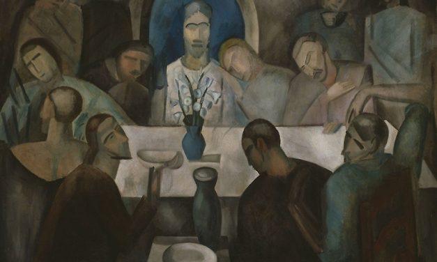 """""""La última cena"""" (1911), de André Derain"""