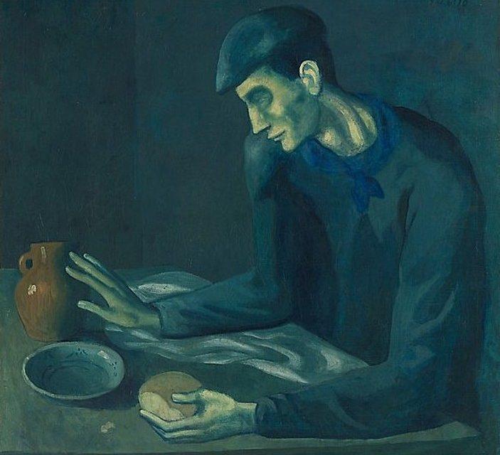 """""""La comida del ciego"""" (1903), de Pablo Picasso"""