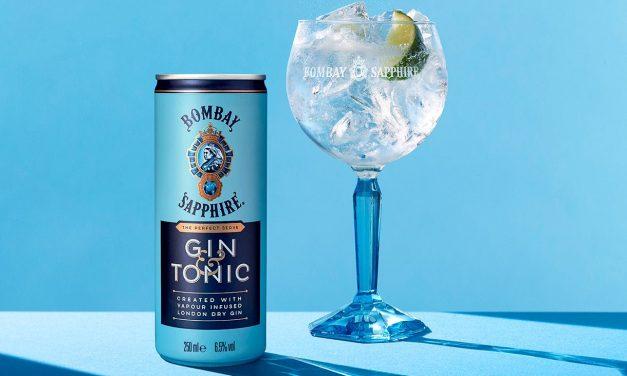 Bombay Sapphire desvela un G&T en lata con Bombay Sapphire & Tonic