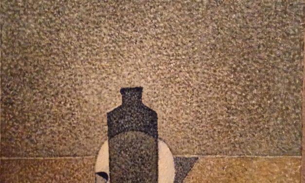 """""""Craneo y botella"""" (2001), de Cristino de Vera"""