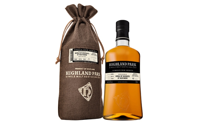 Highland Park lanza whisky exclusivo de Heathrow, Highland Park Single Cask for World of Whiskies at Heathrow