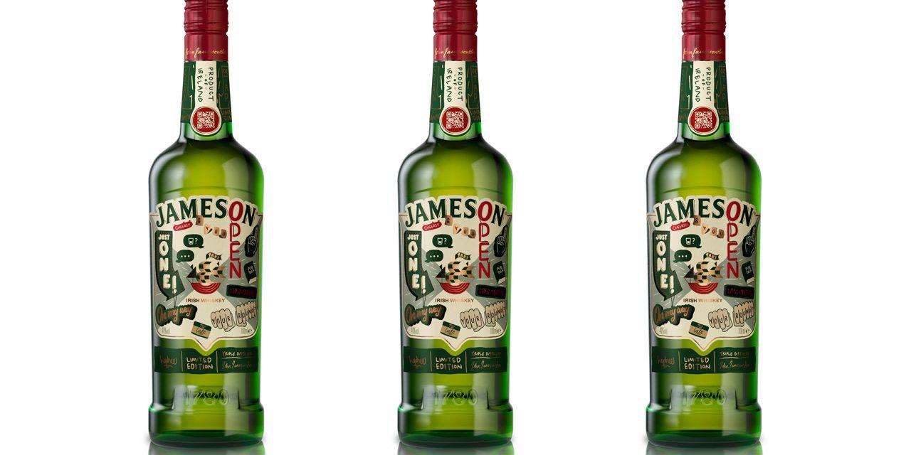 Jameson crea una botella de NFC para el día de San Patricio