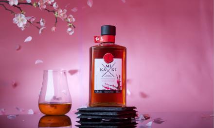 Yoshino desvela Kamiki Sakura Wood, whisky terminado en barriles de sakura