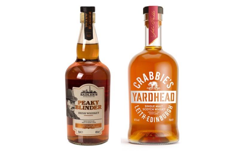 Los whiskies Crabbie's y Peaky Blinder se lanzan en EE.UU.