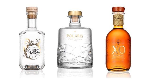 Steklarna Hrastnik anuncia una nueva gama de botellas de licor inspiradas en el espacio
