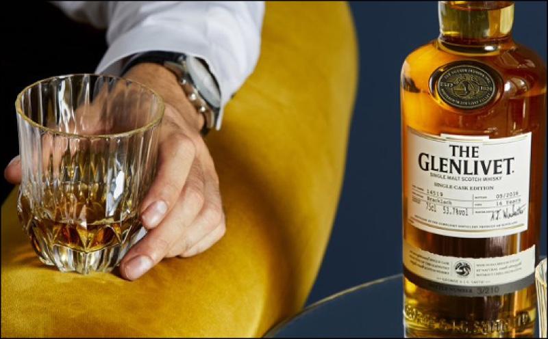 The Glenlivet presenta los últimos whiskies Single Cask Edition