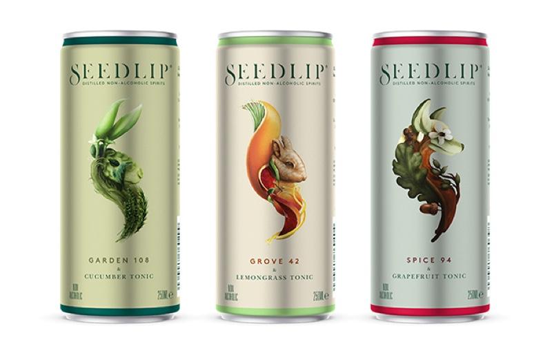 Seedlip y Diageo lanzan latas de RTD