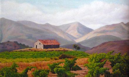 """""""Viña de Burgondo, Ávila"""" (1976), de Antonio Pradales"""