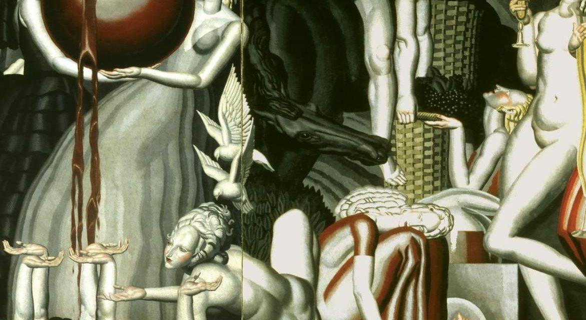 """""""Alegoría del vino"""" (1931), de Jean Dupas"""