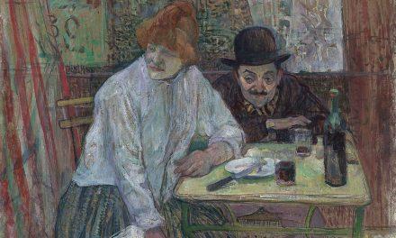 """""""En el café"""" (1891), de Henri de Toulouse-Lautrec"""
