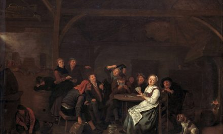 """""""Haciendo trampas en las cartas"""" (1640), de Jan Miense Molenaer"""