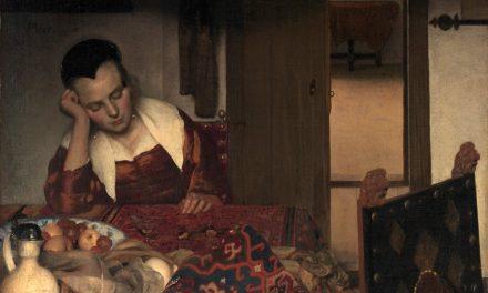 """""""Mujer durmiendo"""" (1656), de Johannes Vermeer"""