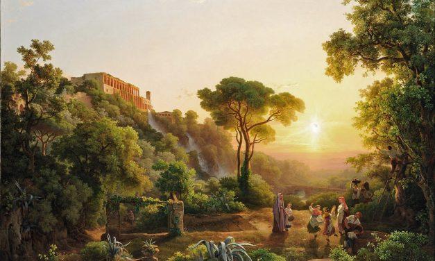 """Paisaje cerca de Tivoli con viñedos"" (1846), de Károly Markó"
