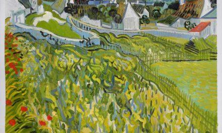 """""""Viñedo con vistas a Auvers"""", (1890), de Vincent van Gogh"""