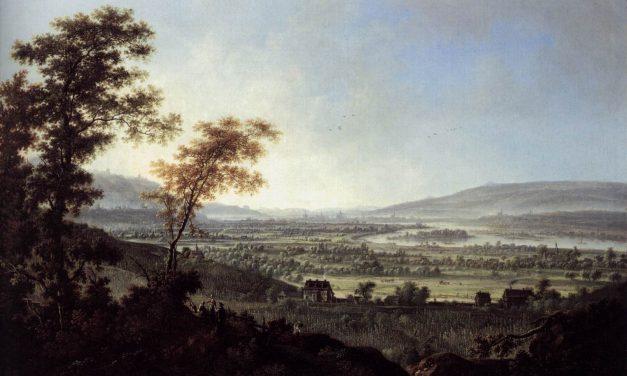 """Vistas de Dressden"" (1751), de Johann Alexander Thiele"