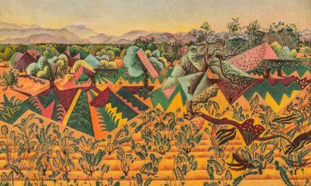 """""""Viñas y olivos, Tarragona"""" (1919), de Joan Miró"""