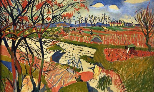 """""""Viñedos en primavera"""" (1904), de André Derain"""