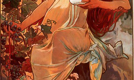 """""""El otoño"""" (1886), de Alfons Mucha"""