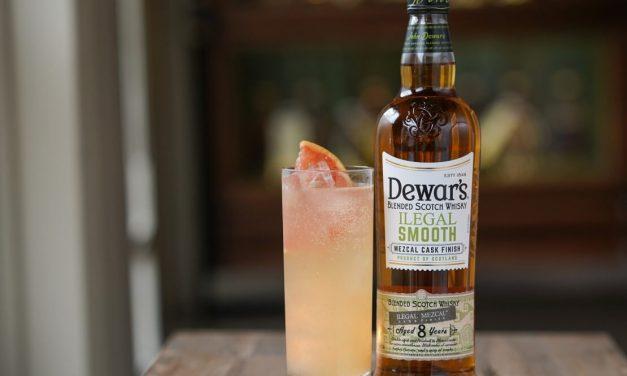 Dewar's presenta Dewar's Ilegal Smooth, una mezcla de whisky con acabado de mezcal