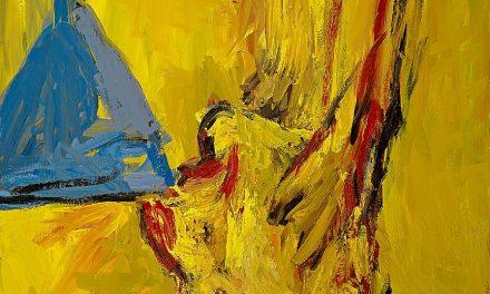 """""""Bebedor con copa"""" (1981), de Georg Baselitz"""