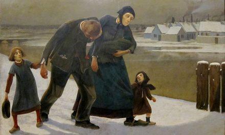 """La borrachera"" (1883), de Eugene Laermans"