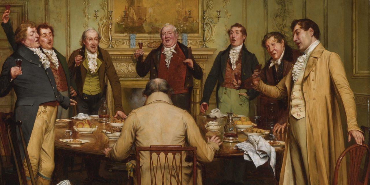 """""""Porque es un buen compañero y así lo decimos todos nosotros"""" (1880), de Walter Dendy Sadler"""