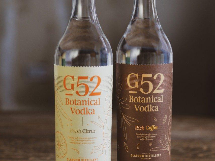 Glasgow Distillery anuncia una nueva gama de 'vodka botánico' con G52 Botanical Vodka