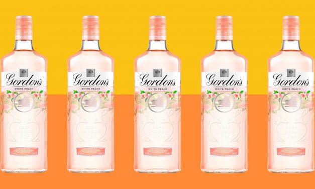 Gordon's lanza Gordon's White Peach, ginebra con sabor a melocotón blanco