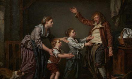"""""""El zapatero borracho"""" (1776), de Jean-Baptiste Greuze"""