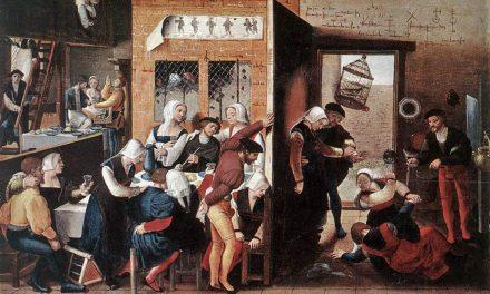 """""""Feliz compañía"""" (1540), de Jan Sanders van Hemessen"""