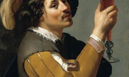 """""""Joven bebiendo un vaso de vino"""" (1635-1640), de Jan van Bijlert"""