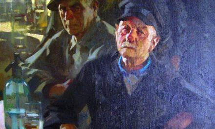 """""""Hombres en la taberna"""" (1941), de José Bardasano Baos"""