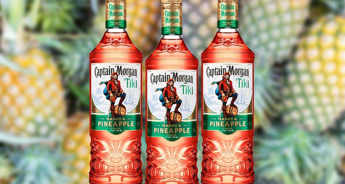 Captain Morgan crea una bebida espirituosa con temática tiki