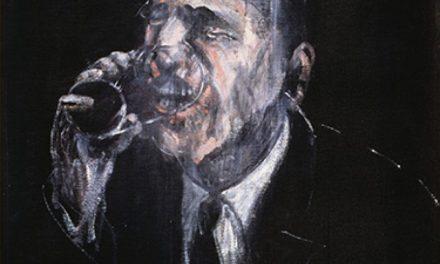 """""""Hombre bebiendo"""" (1955), de Francis Bacon"""