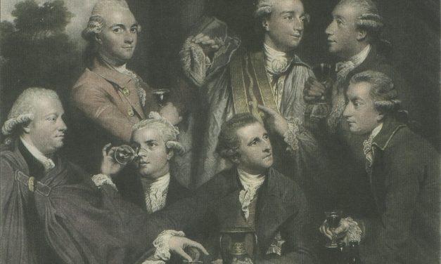 """""""La sociedad de diletantes"""" (1777), de Joshua Reynolds"""