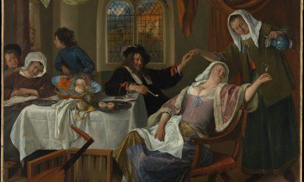"""El hogar disoluto"" (1663), de Jan Havicksz Steen"
