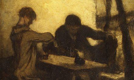 """""""Los bebedores"""" (1861), de Honoré Daumier"""
