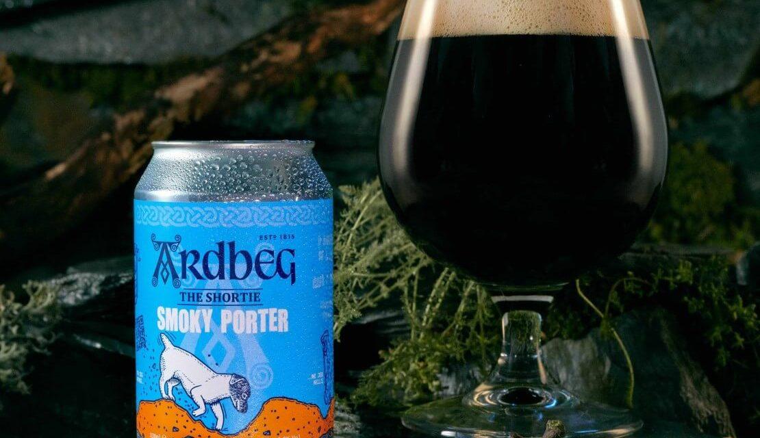 Islay distillery Ardbeg crea The Shortie Smoky Porter
