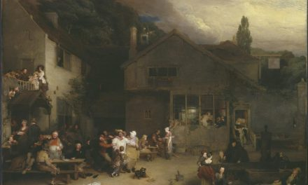 """""""La fiesta del pueblo"""" (1809), de David Wilkie"""