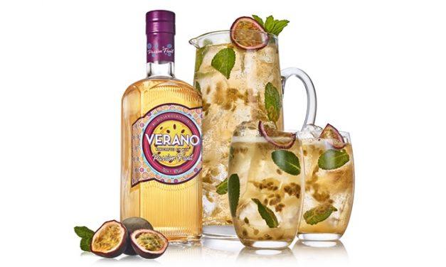 Verano presenta Verano Passion Fruit Gin, ginebra con sabor a maracuyá