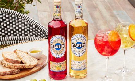 Martini entra en el espacio sin alcohol con nuevos aperitivos, Vibrante y Floreale