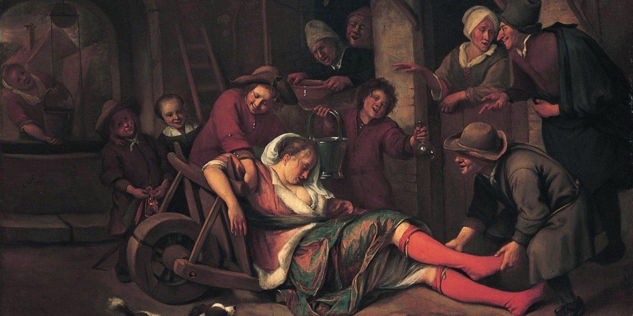 """""""El vino es una burla"""" (1664), de Jan Havicksz Steen"""
