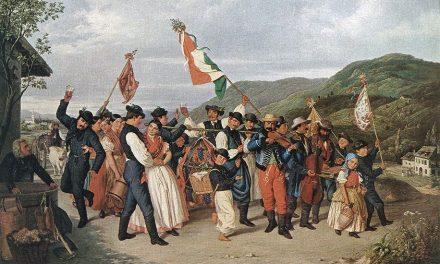 """Cosecha en Vácora"" (1859), de August Canzi"
